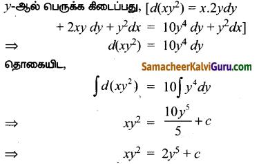 Samacheer Kalvi 12th Maths Guide Chapter Chapter 10 சாதாரண வகைக்கெழுச் சமன்பாடுகள் Ex 10.7 7