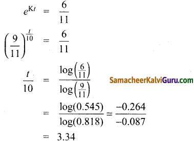 Samacheer Kalvi 12th Maths Guide Chapter Chapter 10 சாதாரண வகைக்கெழுச் சமன்பாடுகள் Ex 10.8 12