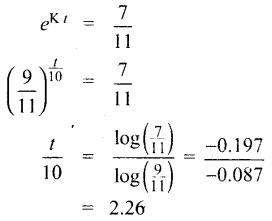 Samacheer Kalvi 12th Maths Guide Chapter Chapter 10 சாதாரண வகைக்கெழுச் சமன்பாடுகள் Ex 10.8 13