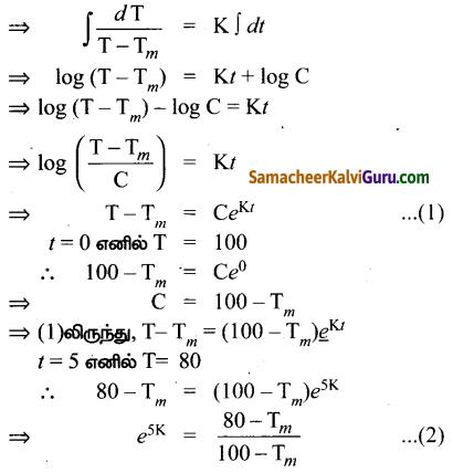 Samacheer Kalvi 12th Maths Guide Chapter Chapter 10 சாதாரண வகைக்கெழுச் சமன்பாடுகள் Ex 10.8 14