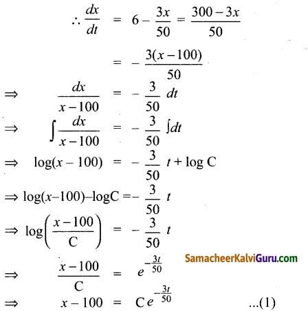 Samacheer Kalvi 12th Maths Guide Chapter Chapter 10 சாதாரண வகைக்கெழுச் சமன்பாடுகள் Ex 10.8 15