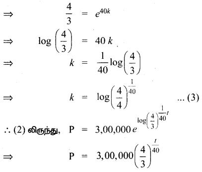 Samacheer Kalvi 12th Maths Guide Chapter Chapter 10 சாதாரண வகைக்கெழுச் சமன்பாடுகள் Ex 10.8 3