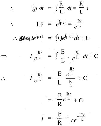 Samacheer Kalvi 12th Maths Guide Chapter Chapter 10 சாதாரண வகைக்கெழுச் சமன்பாடுகள் Ex 10.8 4.1