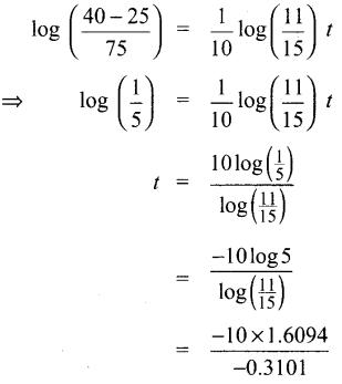 Samacheer Kalvi 12th Maths Guide Chapter Chapter 10 சாதாரண வகைக்கெழுச் சமன்பாடுகள் Ex 10.8 8