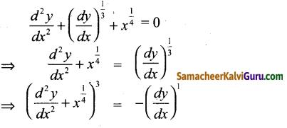Samacheer Kalvi 12th Maths Guide Chapter Chapter 10 சாதாரண வகைக்கெழுச் சமன்பாடுகள் Ex 10.9 1