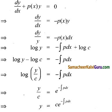 Samacheer Kalvi 12th Maths Guide Chapter Chapter 10 சாதாரண வகைக்கெழுச் சமன்பாடுகள் Ex 10.9 3