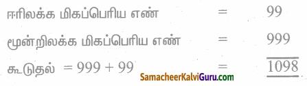Samacheer Kalvi 4th Maths Guide Term 1 Chapter 2 எண்கள் Ex 2.1 1
