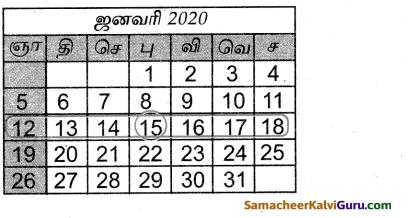 Samacheer Kalvi 4th Maths Guide Term 3 Chapter 4 காலம் InText Questions 5
