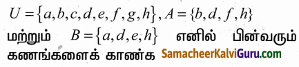 Samacheer Kalvi 9th Maths Guide Chapter 1 கண மொழி Ex 1.3 3
