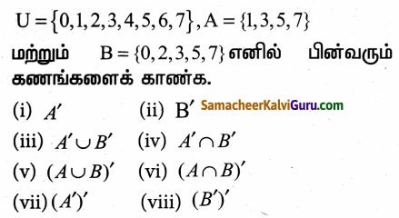 Samacheer Kalvi 9th Maths Guide Chapter 1 கண மொழி Ex 1.3 70