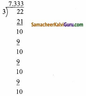 Samacheer Kalvi 9th Maths Guide Chapter 2 மெய்யெண்கள் Ex 2.2 4