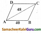 Samacheer Kalvi 9th Maths Guide Chapter 7 அளவியல் Ex 7.1 7