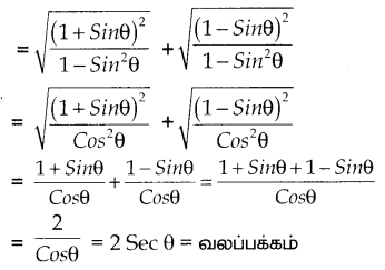 Samacheer Kalvi 10th Maths Guide Chapter 6 முக்கோணவியல் Ex 6.1 5