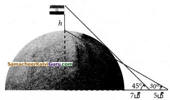 Samacheer Kalvi 10th Maths Guide Chapter 6 முக்கோணவியல் Ex 6.2 5