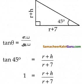 Samacheer Kalvi 10th Maths Guide Chapter 6 முக்கோணவியல் Ex 6.2 6