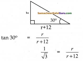 Samacheer Kalvi 10th Maths Guide Chapter 6 முக்கோணவியல் Ex 6.2 7
