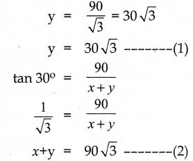 Samacheer Kalvi 10th Maths Guide Chapter 6 முக்கோணவியல் Ex 6.3 11