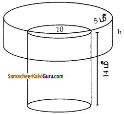 Samacheer Kalvi 10th Maths Guide Chapter 7 அளவியல் Ex 7.2 1
