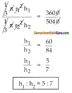 Samacheer Kalvi 10th Maths Guide Chapter 7 அளவியல் Ex 7.2 7