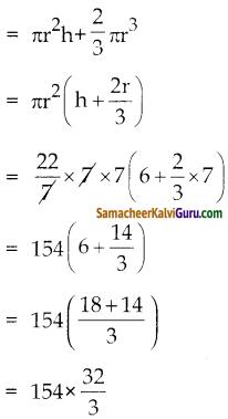 Samacheer Kalvi 10th Maths Guide Chapter 7 அளவியல் Ex 7.3 2