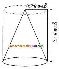 Samacheer Kalvi 10th Maths Guide Chapter 7 அளவியல் Ex 7.3 5