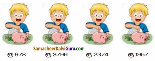 Samacheer Kalvi 4th Maths Guide Term 1 Chapter 2 எண்கள் Ex 2.3a 4
