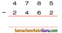 Samacheer Kalvi 4th Maths Guide Term 1 Chapter 2 எண்கள் Ex 2.3b 5