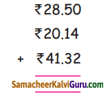 Samacheer Kalvi 4th Maths Guide Term 3 Chapter 5 பணம் Ex 5.2 5