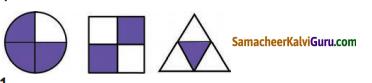 Samacheer Kalvi 4th Maths Guide Term 3 Chapter 6 பின்னங்கள் Ex 6.5 1