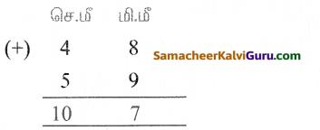 Samacheer Kalvi 5th Maths Guide Term 1 Chapter 4 அளவைகள் Ex 4 3