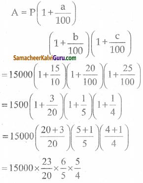 Samacheer Kalvi 8th Maths Guide Chapter 4 வாழ்வியல் கணிதம் Ex 4.3 7
