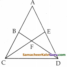 Samacheer Kalvi 8th Maths Guide Chapter 5 வடிவியல் Ex 5.1 2