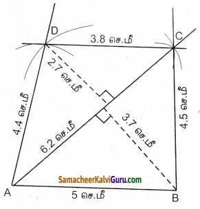 Samacheer Kalvi 8th Maths Guide Chapter 5 வடிவியல் Ex 5.4 2