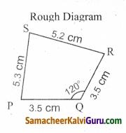 Samacheer Kalvi 8th Maths Guide Chapter 5 வடிவியல் Ex 5.4 5