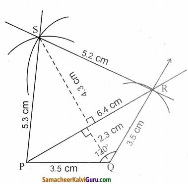 Samacheer Kalvi 8th Maths Guide Chapter 5 வடிவியல் Ex 5.4 6