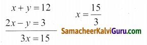 Samacheer Kalvi 9th Maths Guide Chapter 3 இயற்கணிதம் Ex 3.14 2