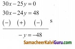 Samacheer Kalvi 9th Maths Guide Chapter 3 இயற்கணிதம் Ex 3.14 6