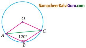 Samacheer Kalvi 9th Maths Guide Chapter 4 வடிவியல் Ex 4.4 10