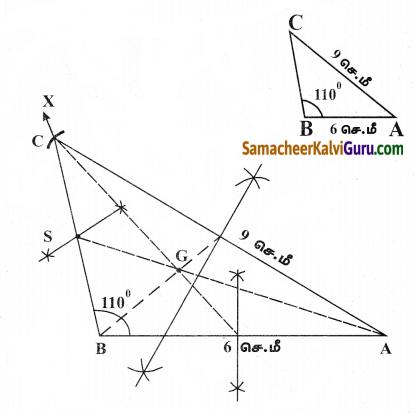 Samacheer Kalvi 9th Maths Guide Chapter 4 வடிவியல் Ex 4.5 4