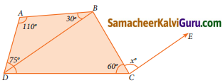 Samacheer Kalvi 9th Maths Guide Chapter 4 வடிவியல் Ex 4.7 3