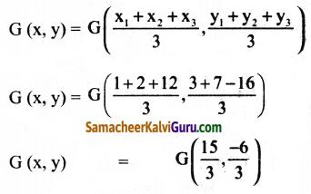 Samacheer Kalvi 9th Maths Guide Chapter 5 ஆயத்தொலை வடிவியல் Ex 5.5 5