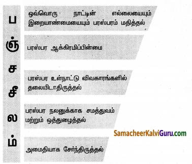 Samacheer Kalvi 10th Social Science Guide Civics Chapter 4 இந்தியாவின் வெளியுறவுக் கொள்கை 6