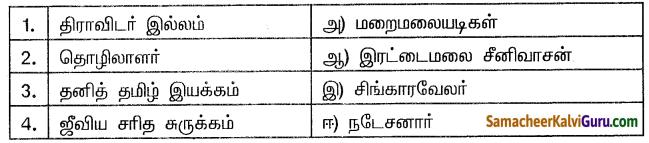Samacheer Kalvi 10th Social Science Guide History Chapter 10 தமிழ்நாட்டில் சமூக மாற்றங்கள் 1