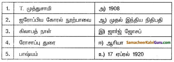Samacheer Kalvi 10th Social Science Guide History Chapter 9 தமிழ்நாட்டில் விடுதலைப் போராட்டம் 3