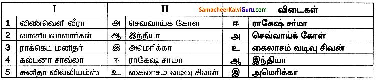 Samacheer Kalvi 8th Science Guide Chapter 8 அண்டம் மற்றும் விண்வெளி அறிவியல் 2