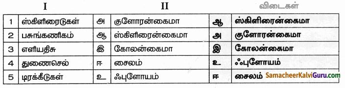 Samacheer Kalvi 9th Science Guide Chapter 18 திசுக்களின் அமைப்பு 1