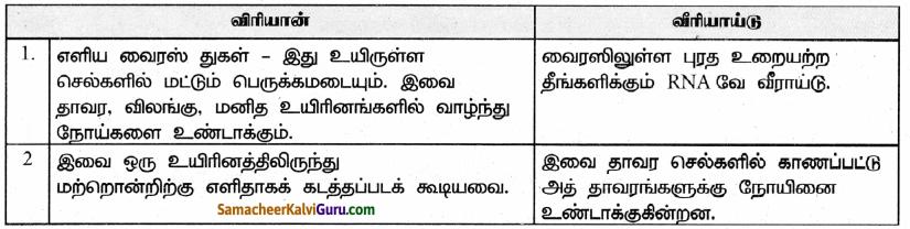Samacheer Kalvi 9th Science Guide Chapter 22 நுண்ணுயிரிகளின் உலகம் 60