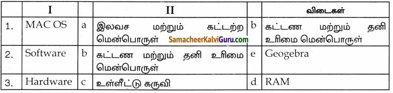 Samacheer Kalvi 9th Science Guide Chapter 26 கணினியின் பாகங்கள் 80