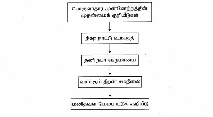 Samacheer Kalvi 9th Social Science Guide Economics Chapter 1 மேம்பாட்டை அறிவோம் தொலைநோக்கு, அளவீடு மற்றும் நிலைத் தன்மை 80
