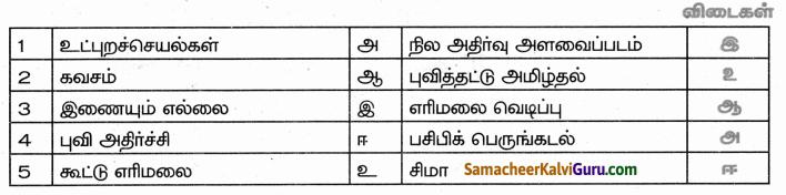 Samacheer Kalvi 9th Social Science Guide Geography Chapter 1 நிலக்கோளம் – I புவி அகச்செயல்பாடுகள் 10